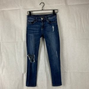 DL 1961 -  Florence Distressed Midrise Skinny